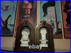 13 Haunted Mansion Following Busts with Ride Accurate Frames