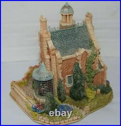 1997 Disney Lilliput Lane THE HAUNTED MANSION Signed Convention Exc 118/500