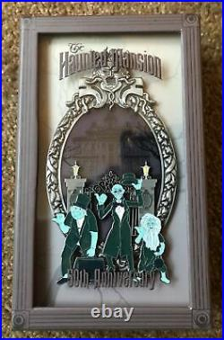 2019 Disney D23 Expo Haunted Mansion 50th Anniversary Ghosts Jumbo Pin LE 250