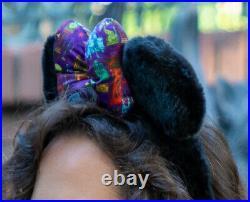 2019 Disney D23 Expo Imagineering WDI MOG Haunted Mansion Minnie Bow Headband