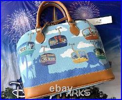 2021 Disney Parks Dooney & Bourke Skyliner Satchel Purse Haunted Mansion Remy