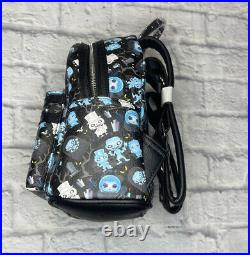 2021 Disney Parks Loungefly The Haunted Mansion Mini Backpack AOP NWT