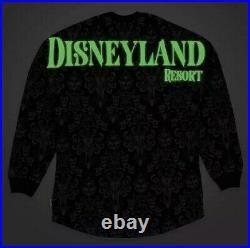 2XL XXL Disneyland Disney Parks Haunted Mansion Spirit Jersey Glow in the Dark