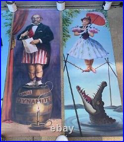 8 FOOT TALL Stretching Portrait Haunted Mansion Disneyland D23 Prop Disney 50th