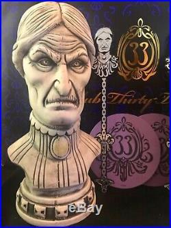 Club 33 Limited Edition Haunted Mansion 50th Anniversary Tiki Mug Set NEW with Bag