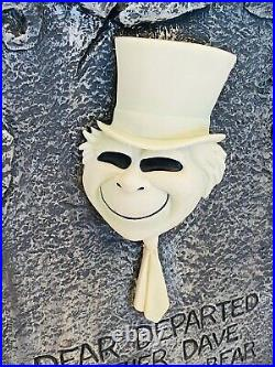 DISNEY HAUNTED MANSION TOMBSTONE HITCHHIKING GHOST PHINEAS Big Figurine Statue