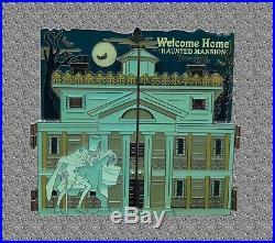 DLR Pin Haunted Mansion O'Pin House Diorama Jumbo Pin DISNEY LE 250