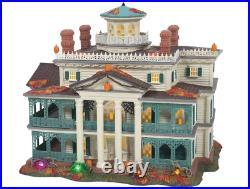 Dept 56 Haunted Mansion Snow Village Halloween Disney New 2021 6007644