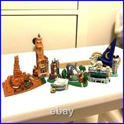 Diorama figure Miniature Big Thunder Mountain Tower of teller haunted Mansion