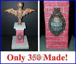 Disney 1999 Haunted Mansion Gargoyle BAT STANCHION LE 350 Terri Hardin