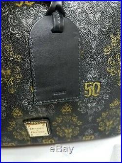 Disney 2019 DOONEY & BOURKE Haunted Mansion 50th Anniversary Tote Bag Purse
