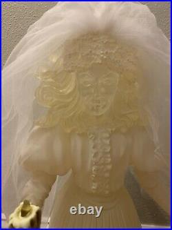 Disney 999 Happy Haunts Haunted Mansion Light Up Bride RARE 18-24 Tall