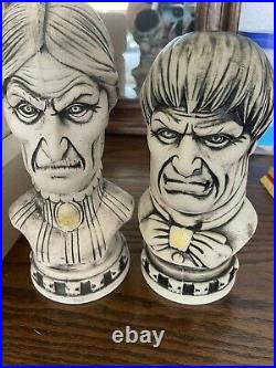 Disney Club 33 Haunted Mansion 50th Anniversary Tiki Bust Mug Set