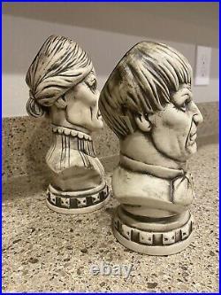 Disney Club 33 Haunted Mansion 50th Anniversary Tiki Bust Mug Set Disneyland