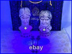 Disney Club 33 Haunted Mansion 50th Anniversary Tiki Bust Mugs Swizzles Coasters