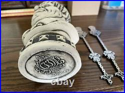 Disney Club 33 Haunted Mansion 50th Anv Tiki Mug 2 Stir Sticks MALE ONLY NO BOX