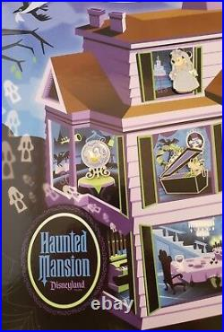 Disney DLR The Haunted Mansion Collection 2009 Mickey, Minnie, Goofy, 6 Pin Set