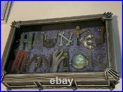 Disney Dave Avanzino Haunted Mansion Shadow Box RARE