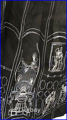 Disney Disneyland Park Dress Shop Haunted Mansion Ballroom Scene Size XL