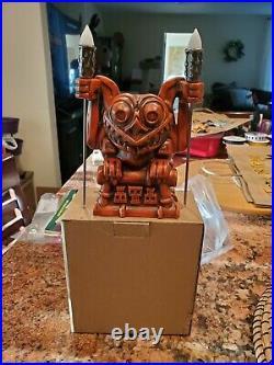 Disney Disneyland Trader Sams Haunted Mansion Gargoyle Tiki Mug 1st Edition