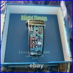 Disney Dooney And Bourke Haunted Mansion 2021 LE 2500 Magic Band Unlinked New