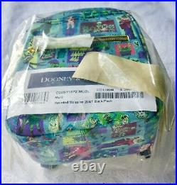 Disney Dooney And Bourke Haunted Mansion Backpack New With Tags (actual Bag)