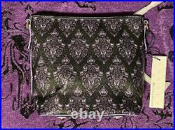 Disney Dooney & Bourke 2020 Haunted Mansion Wallpaper Crossbody Bag NWT