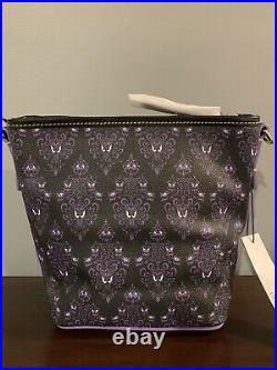 Disney Dooney & Bourke 2020 Haunted Mansion Wallpaper Crossbody Bag NWT Purple