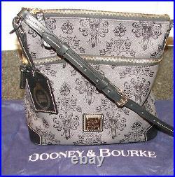 Disney Dooney & Bourke HAUNTED MANSION Wallpaper Crossbody Bag Purse withDust Bag