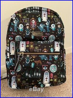 Disney Dooney & Bourke Haunted Mansion Backpack NWT Bag Purse