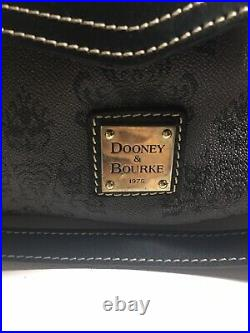 Disney Dooney Bourke Haunted Mansion Collection Smith Satchel Purple Lining Bag