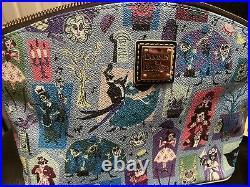 Disney Dooney & Bourke Haunted Mansion Crossbody Bag Purse 2020