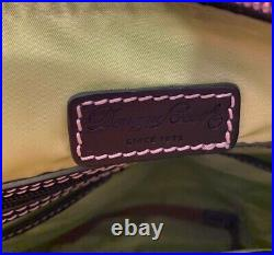 Disney Dooney & Bourke Haunted Mansion Nylon Portraits Crossbody Handbag