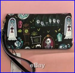 Disney Dooney & Bourke Haunted Mansion Wallet Great Placement NWT