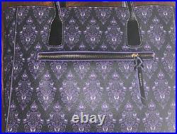 Disney Dooney & Bourke Haunted Mansion Wallpaper Hobo Bag