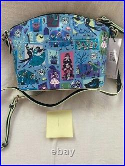 Disney Dooney & Bourke Haunted Mansion crossbody bag NWT