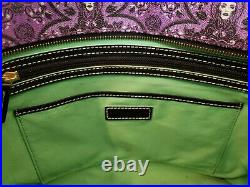 Disney Dooney & Bourke Leota Haunted Mansion purple Halloween bag purse tote