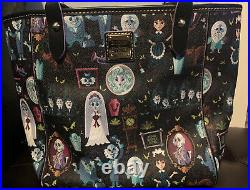 Disney Dooney & Bourke NWT Haunted Mansion Tote Awesome Placement