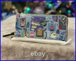 Disney Dooney & Bourke The Haunted Mansion Wallet NWT