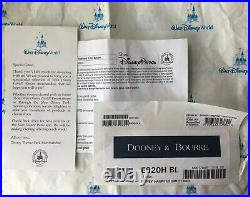 Disney Dooney Haunted Mansion Smith Bag New Wallpaper Purple Lining Purse NWT