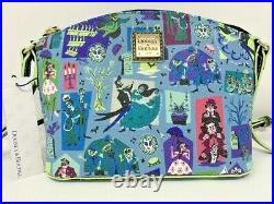 Disney Dooney & and Bourke Haunted Mansion Crossbody Bag Purse Bride Ghosts NWT