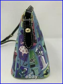 Disney Dooney & and Bourke Haunted Mansion Crossbody Bag Purse Bride Madam Leita
