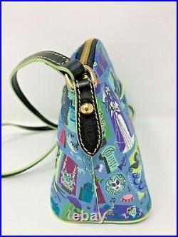 Disney Dooney & and Bourke Haunted Mansion Crossbody Bag Purse Madame Leota NWT