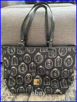 Disney Dooney and Bourke Haunted Mansion Portrait Purse, Used, Good Condition