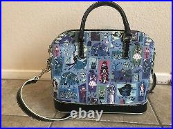 Disney Dooney & and Bourke Haunted Mansion Satchel Bag Purse GraveDigger