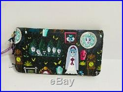 Disney Dooney & and Bourke Haunted Mansion Wallet Hitchhiking Ghosts Bride Leota
