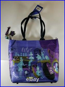 Disney Harveys Seatbelt SHAG Haunted Mansion 50th Anniversary Tote NWT bag