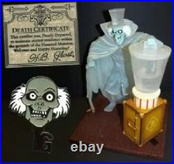 Disney Haunted Mansion 40th NEW Hatbox Ghost Figure Limited Edition-250