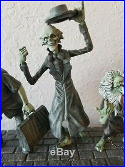 Disney Haunted Mansion 50th Hitchhiking Ghosts LED Light-Up Figure Figurine NIB