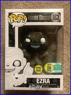 Disney Haunted Mansion Comic Con Funko Pop! Gus, Ezra, Phineas, And Hatbox Ghost